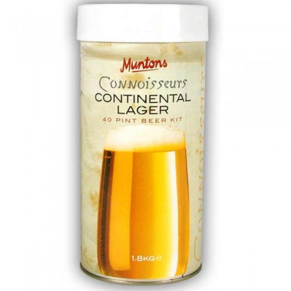 Muntons Connoisseurs Continental Lager from dowricks.com