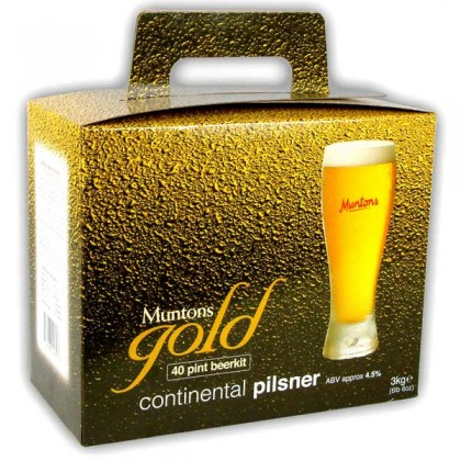 Muntons Gold Continental Pilsner from dowricks.com