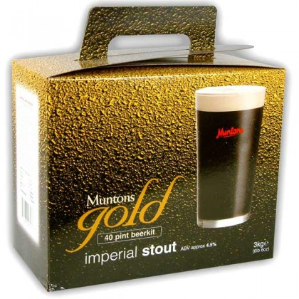 Muntons Gold Imperial Stout from dowricks.com