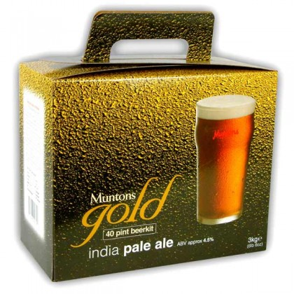 Muntons Gold India Pale Ale from dowricks.com
