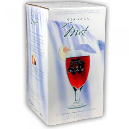 Niagara Mist - Strawberry White Zinfandel from dowricks.com