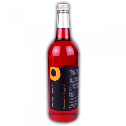Norfolk Cordial Redcurrant and Grapefruit Catering Size 75cl from dowricks.com