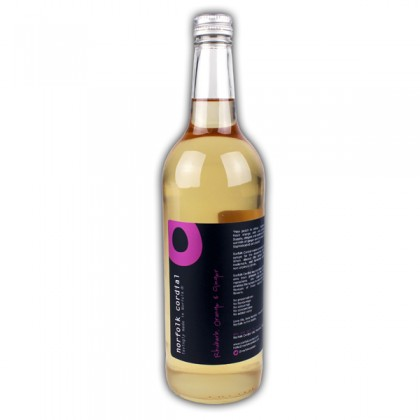 Norfolk Cordial Rhubarb, Orange and Ginger Catering Size 75cl from dowricks.com