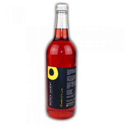 Norfolk Cordial Strawberry and Lime Catering Size 75cl from dowricks.com