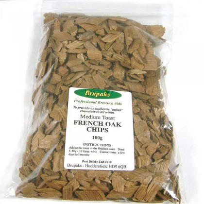 Oak Chips French Medium Toast - 100g from dowricks.com