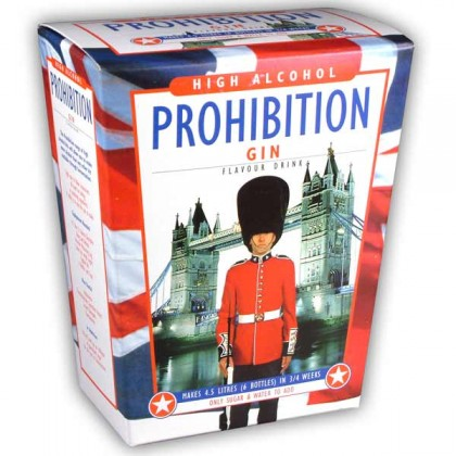 Prohibition Gin from dowricks.com