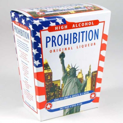 Prohibition Liqueur Kits - Peach Schnapps from dowricks.com