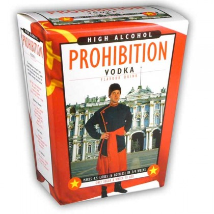 Prohibition Vodka from dowricks.com