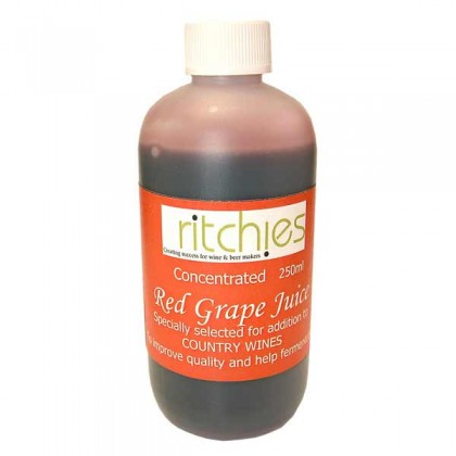Ritchies Red grape concentrate - 250ml from dowricks.com