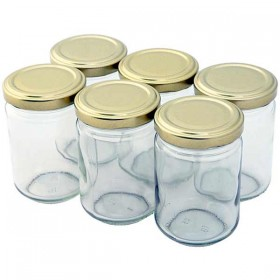 Round Preserving Jar - 156ml -  Pack of 6