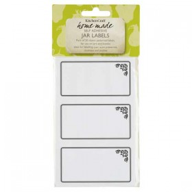 Self adhesive labels with a monochrome motif - 20