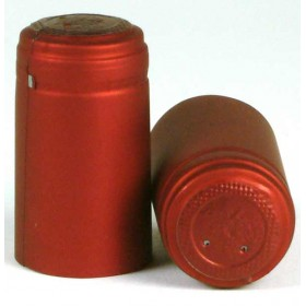 Shrink Capsules - Metallic Bordeaux