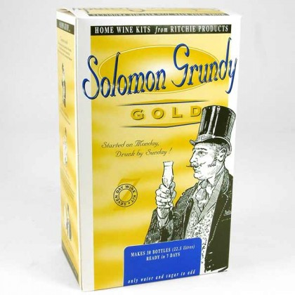 Solomon Grundy Gold - Merlot - 30 Bottles from dowricks.com