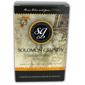 Solomon Grundy Gold Shiraz 6 Bottles