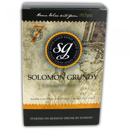 Solomon Grundy Gold Piesporter 6 Bottles from dowricks.com