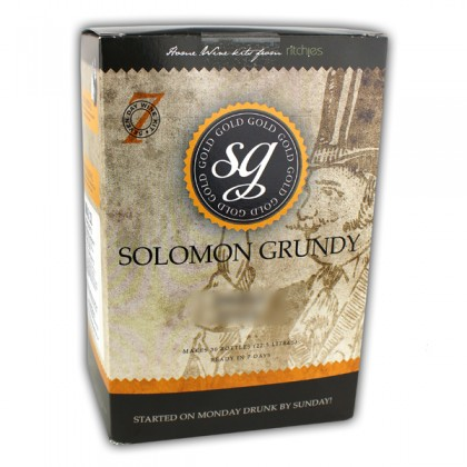 Solomon Grundy Gold Shiraz 30 Bottles from dowricks.com