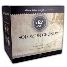 Solomon Grundy Merlot Starter Kit 6 Bottle