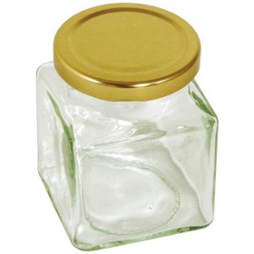 Square preserving jar - 200g ( 12 oz )