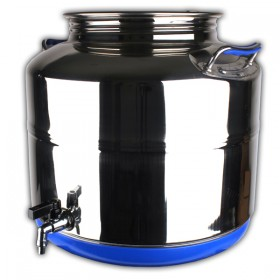 Stainless steel 30 drum with tap