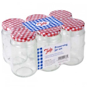 Tala - Preserving Jars  454g / 16oz - pack of 6