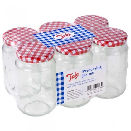 Tala - Preserving Jars  454g / 16oz - pack of 6 from dowricks.com