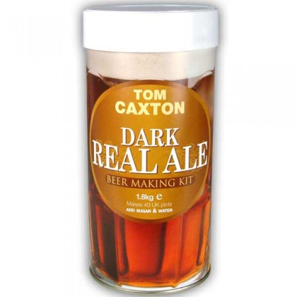 Tom Caxton Dark Real Ale from dowricks.com