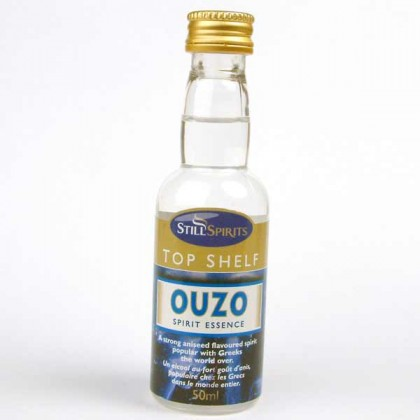 Top Shelf Spirits - Ouzo from dowricks.com