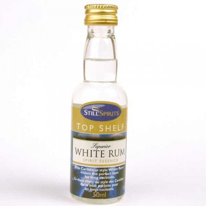 Top Shelf Spirits - White Rum from dowricks.com