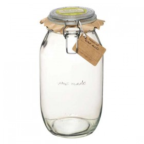Traditional glass preserving jar - 2100ml (74oz)