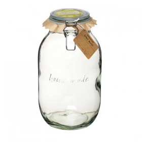 Traditional glass preserving jar - 3000ml (106oz)