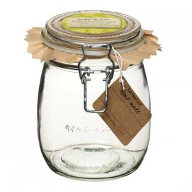Traditional glass preserving jar - 750ml (26oz)