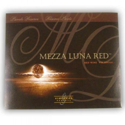 Vintners Reserve - Mezza Luna Red - Labels from dowricks.com