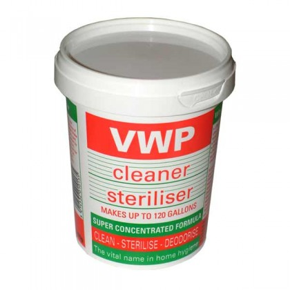 VWP Cleanser and sterilser - 400g from dowricks.com