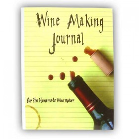 Wine Making Journal, for the Homemade Wine Maker