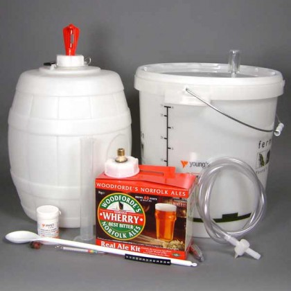 Woodfordes Wherry Micro Brewery Starter kit from dowricks.com