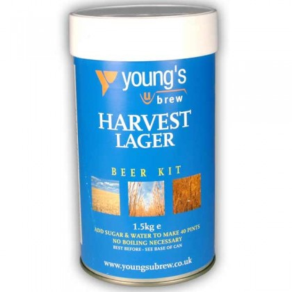 Youngs Harvest Lager from dowricks.com