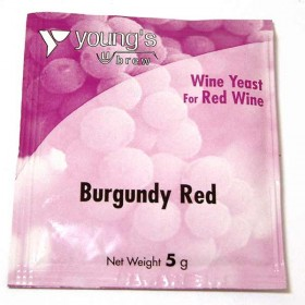 Youngs Red Burgundy Yeast