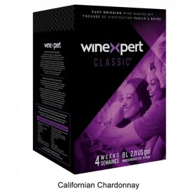 Winexpert Classic - Californian Chardonnay - 30 bottle winemaking kit