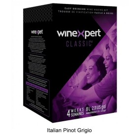 Winexpert Classic - Italian Pinot Grigio - 30 bottle winemaking kit