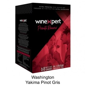 Winexpert  - Private reserve - Washington Yakima Pinot Gris - Winemaking  Kit