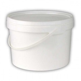 Plastic Bucket and lid without scale - 5 litre