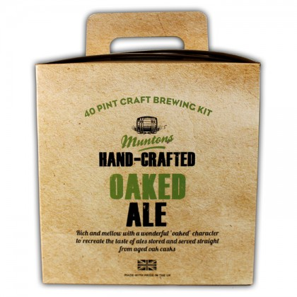 Hand-crafted Oaked Ale from dowricks.com