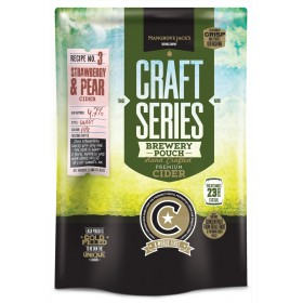 Mangrove Jack's Craft Series Strawberry and Pear Cider - 2.4kg