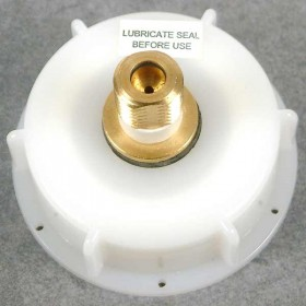 Basic Barrel WH Cap with Brass Inlet & S30 Relief valve