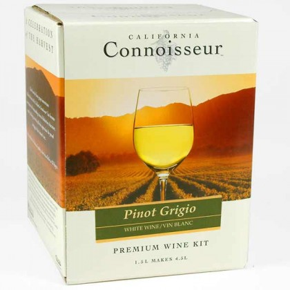 California Connoisseur - Pinot Grigio 6 bottles from dowricks.com