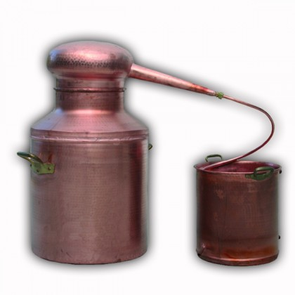 Copper Alembic Still 50 litres Tipo from dowricks.com
