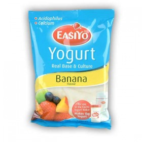 Easiyo Banana Flavoured Yogurt Base