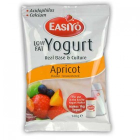 Easiyo Low Fat Apricot Flavoured Yogurt Base