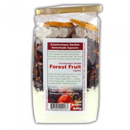 Forest Fruit Liqueur by Countrymans Garden from dowricks.com