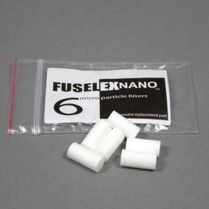 Fuselex Nano inline - filter pack of 6 from dowricks.com